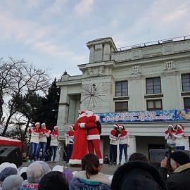 20171223 164037 270x270 Санта Клаус отдыхает   на арене Дед Мороз