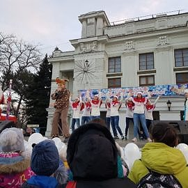 20171223 164657 270x270 Санта Клаус отдыхает   на арене Дед Мороз