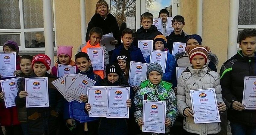 Школьная линейка по итогам II четверти.