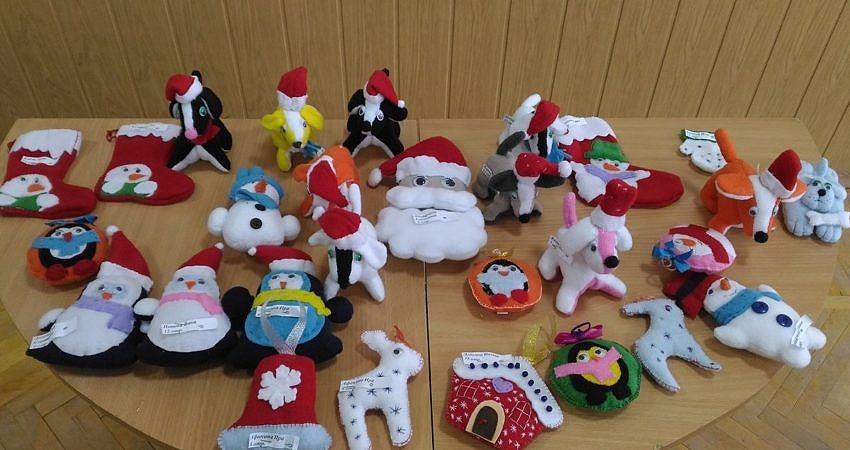 Выставка «Мастерская Деда Мороза»