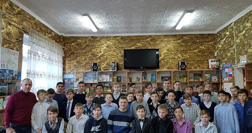 Спортивная встреча с Евгением Васильевичем Шестаковым