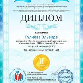 Diplom proekta infourok.ru 1541574429964 270x270 Достижения обучающихся
