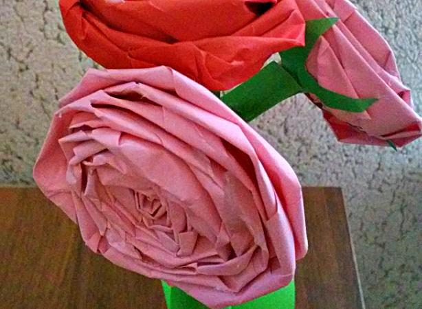 Мастер-класс «Цветочный букет»