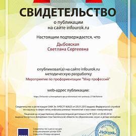 Svidetelstvo proekta infourok.ru 1353855 270x270 Достижения сотрудников