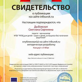 Svidetelstvo proekta infourok.ru 1354040 270x270 Достижения сотрудников