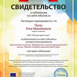 Svidetelstvo proekta infourok.ru 982409 270x270 Достижения сотрудников