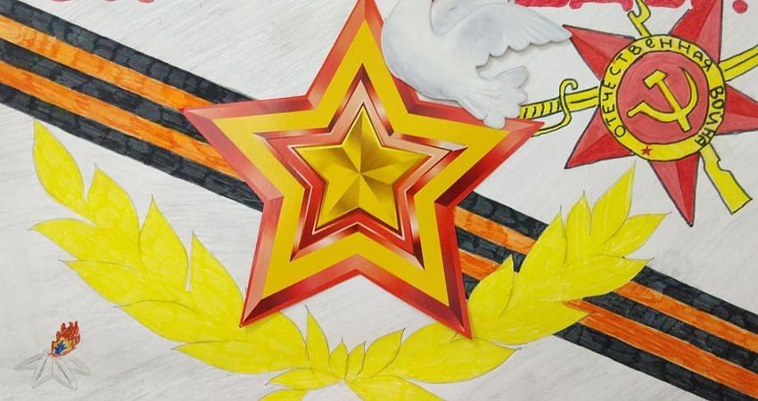 Выставка творческих работ «День Победы»