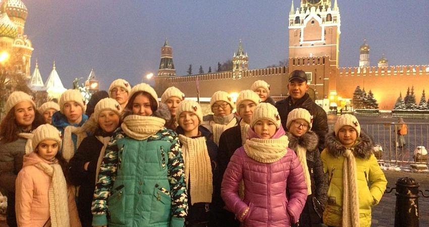 Новогодняя сказка в Москве!