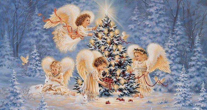 Зажглась  звезда – Христос родился! Весь мир любовью озарился! Пусть счастье входит в каждый дом! С прекрасным светлым Рождеством!