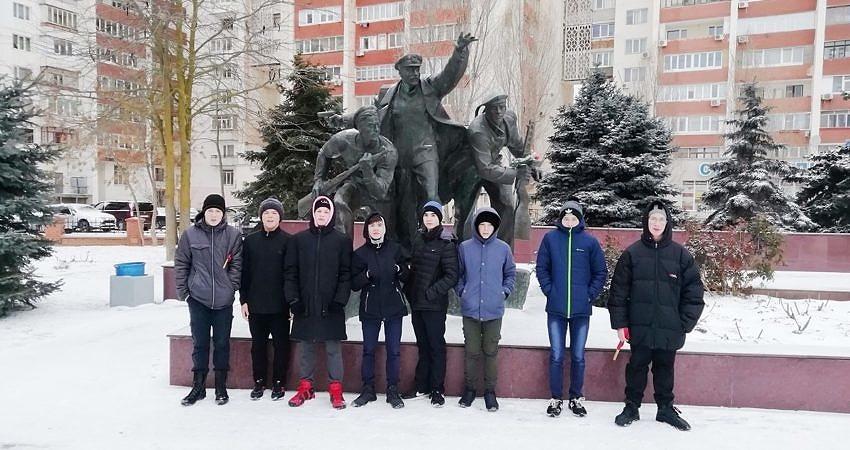 День защитника Отечества в городе Евпатория