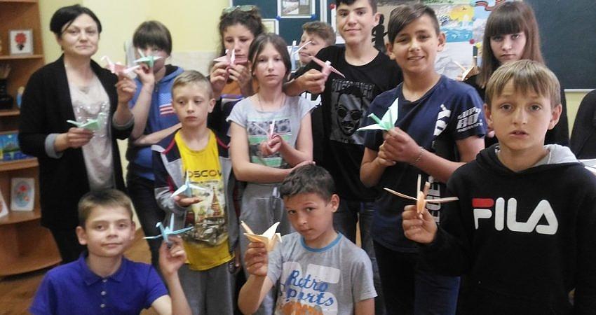 Тематический мастер-класс по обучению технике оригами