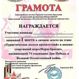 Usov Danil 00139 270x270 Достижения обучающихся