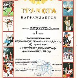 gramota kozhanyj myach00220 270x270 Достижения обучающихся