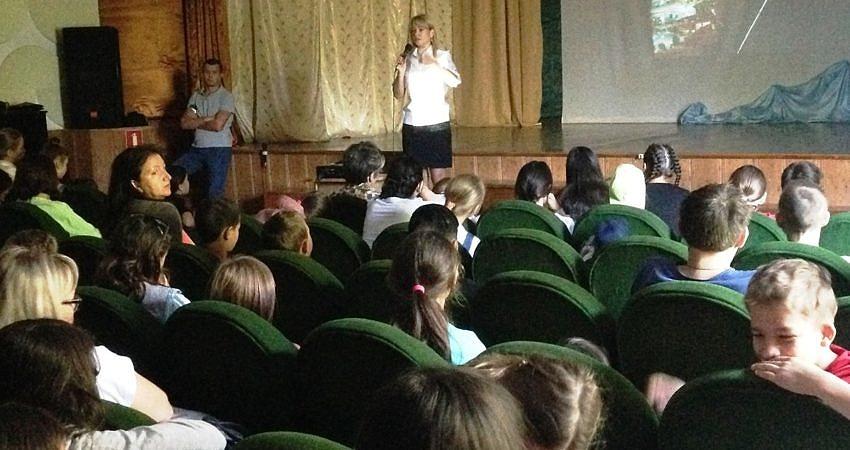 Встреча воспитанников Центра с представителями ГИБДД