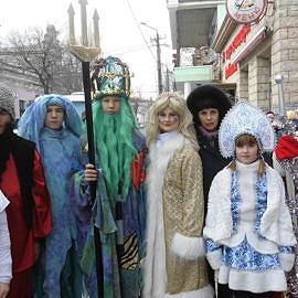 1 2 270x270 На арене Дед Мороз