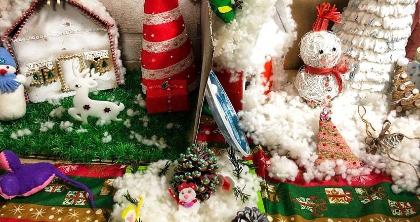 Мастерская Дедушки Мороза