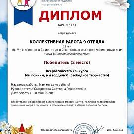 diplom9 270x270 Достижения учреждения