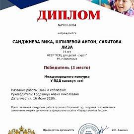 gramota4 270x270 Достижения обучающихся