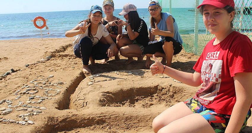 Строим песочные фигуры