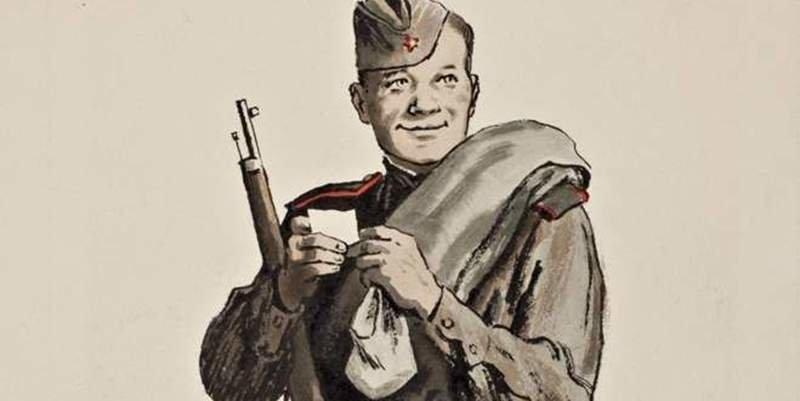 Александр Твардовский — «Василий Теркин». Глава «О себе».