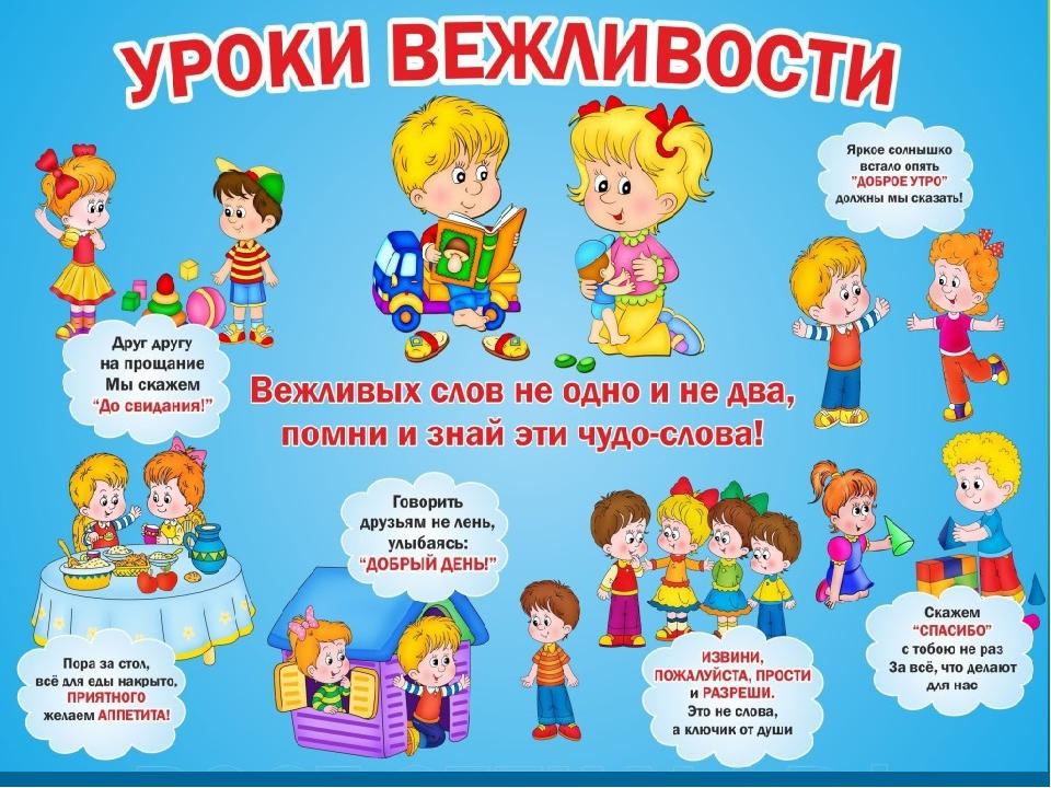 Этикет картинки для детей, марта