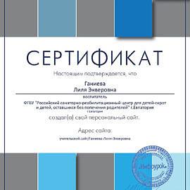 Sertifikat proekta infourok.ru 328623 270x270 Достижения сотрудников