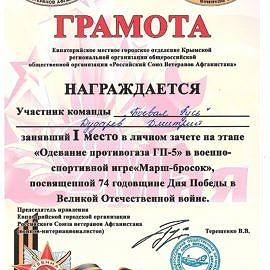 Dudrev Dmitrij 00142 1 270x270 Достижения обучающихся