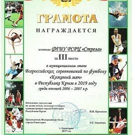 gramota kozhanyj myach 100221 270x270 Достижения обучающихся