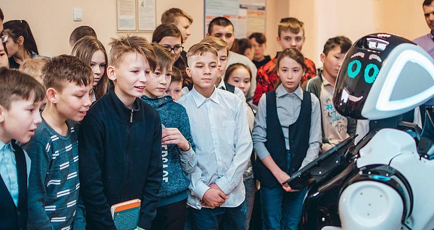 Открытие класса робототехники