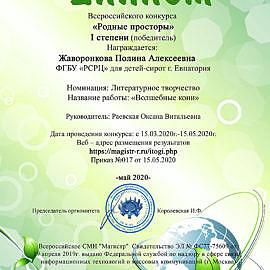 Diplom Magistr21 270x270 Достижения обучающихся