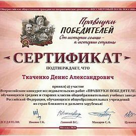 diplom11 270x270 Достижения обучающихся